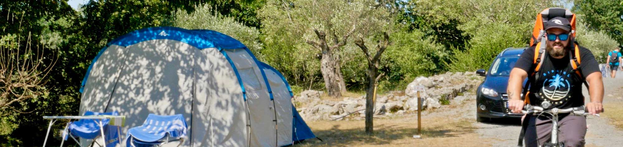 emplacements camping ruoms vallon pont arc ardeche