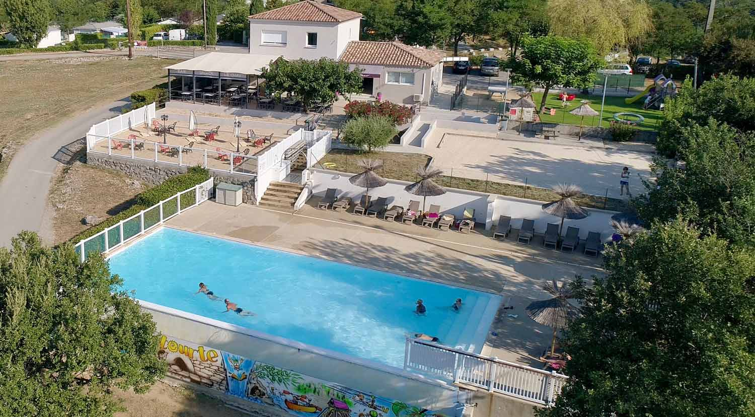 Camping piscine chauffee ardeche photos de voyage for Camping piscine