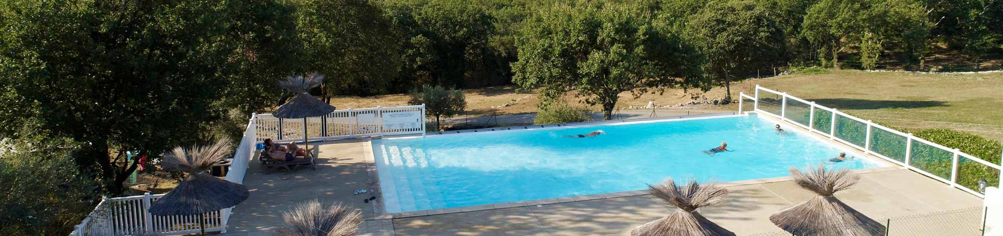 piscine camping gorges ardeche ruoms